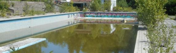Démolition de la piscine de Caussels à Albi (81)