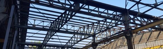 Désamiantage bâtiments industriels à St-Benoit de Carmaux (81)