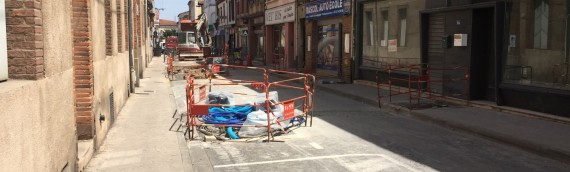 Reprise des branchements AEP sur rue croix verte à Albi (81)