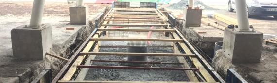 Création d'un pont bascule recevant une charge de 50 tonnes (81)