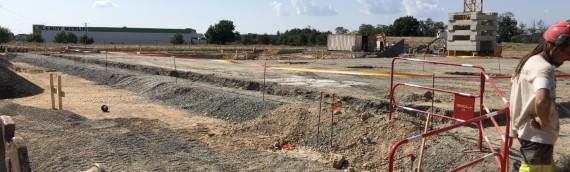 Réalisation de travaux d'assainissement sur le nouveau site «Cuisine centrale (UCP)» Albi (81)