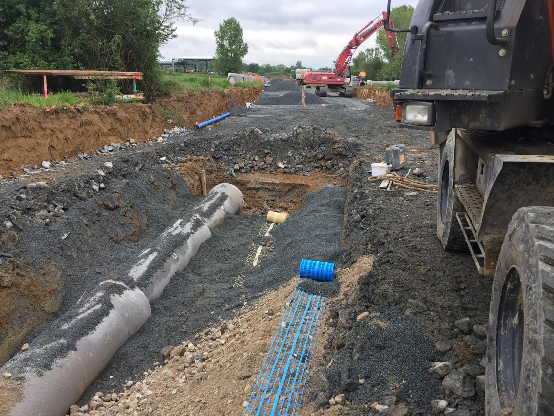 Extension de la Zac de Rieumas (voie secondaire) à Marssac (81)