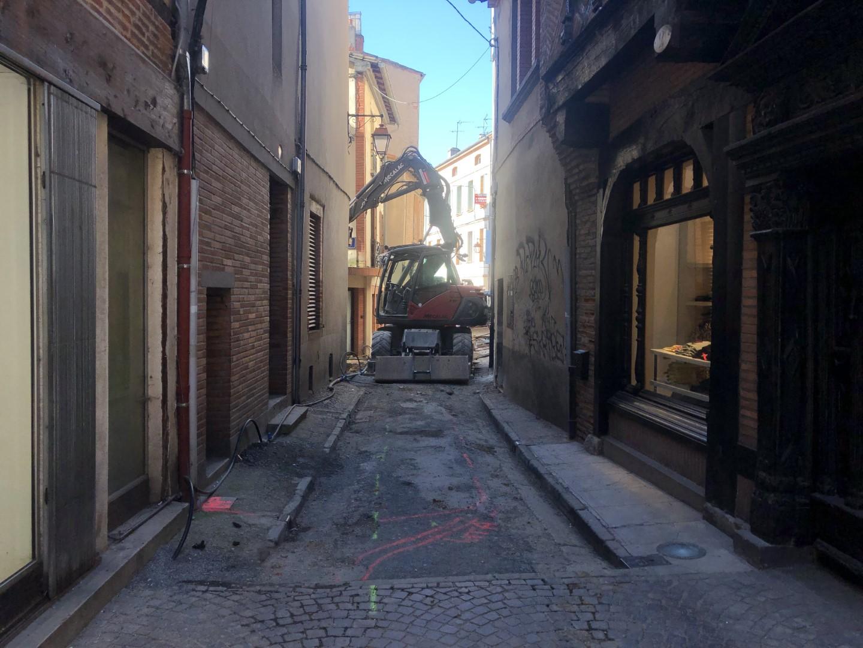 Réfection des réseaux – Rue des pénitents à Albi (81)