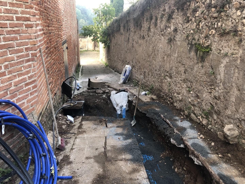 Réfection des réseaux d'assainissement EU et d'eau potable AEP – Rue du Tendat à Albi (81)