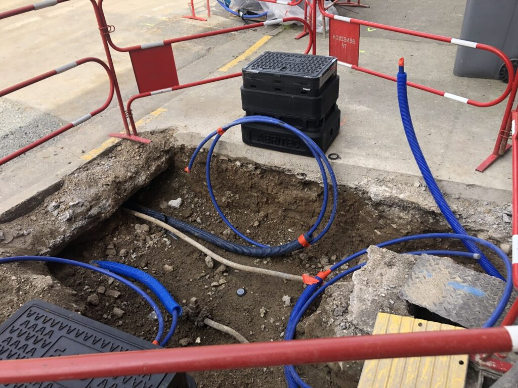 réseau branchement eau potable