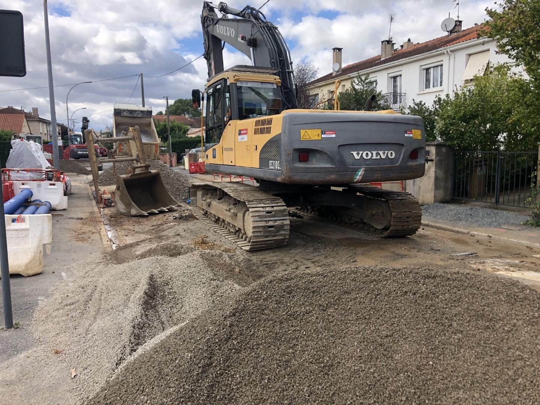 Réfection des réseaux d'assainissement – Rue de Jarlard à Albi (81)