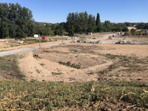 Travaux d'aménagement paysagers de la partie nord du parc de Pratgraussals à Albi (81)