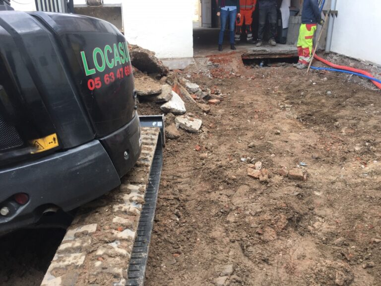 Travaux paysagers
