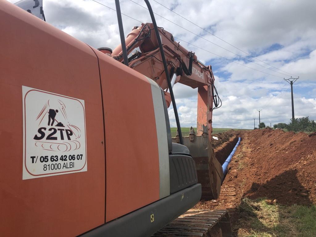 Modification du réseau d'adduction d'eau potable structurant du Syndicat Mixte du Dadou, entre Terre-Clapier et Saint Martial (81)